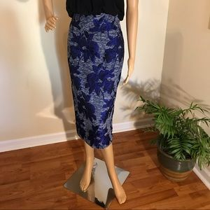 Gabrielle Union high waist pencil skirt sz 8